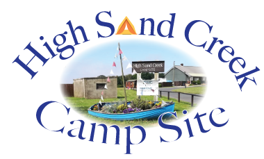 High Sand Creek - Campsite Logo